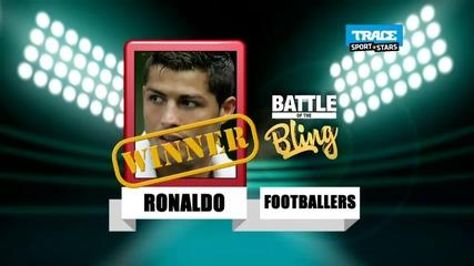 Кристиано Роналдо или Usher - кой е по-богат