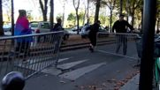 France: 'Manif pour Tous' activist chasen and beaten by counter-protesters