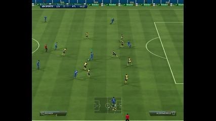 Левски - Атлетико Мадрид 0:1