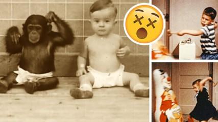 Топ 7 на най-УЖАСЯВАЩИТЕ експерименти, правени с деца!