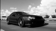 Mercedes Benz Sl55 on Vossen
