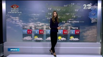 Прогноза за времето (16.11.2014 - сутрешна)
