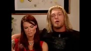 Lita, Matt & Edge In Byte This(part 1)