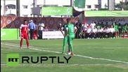 Палестина: Футболният отбор на Уест Банк играе в Газа за пръв път от 15 години насам