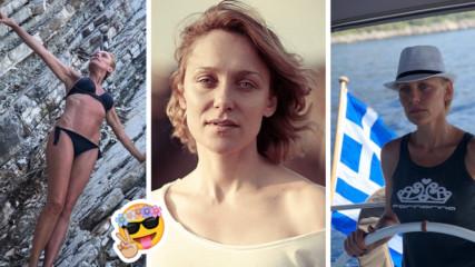 Морето ѝ отива: Койна Русева шашна със супер форма от гръцките брегове