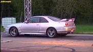 Vw Corrado Vr6 Turbo vs Nissan Skyline Gtr R33