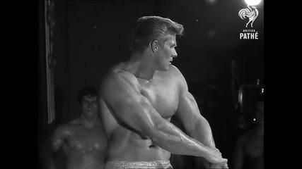 Arnold Schwarzenegger Wins Mr Universe (1969)