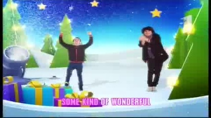 Disney Channel Christmas Ident 2009 - Lyrics Hilda Stenmalm - A little Magic (бг Превод)