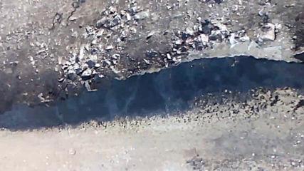 Подготовка за асфалтиране след ремонт на водопровод