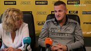 Валентич: Горд съм, че излизаме в дербито като лидери