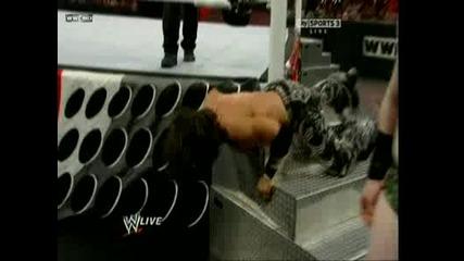 Wwe Raw - John Morrison vs. Sheamus 10.01.2011