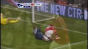 Манчестър Юнайтед - Сток Сити 1:0 - гол на Hernandez