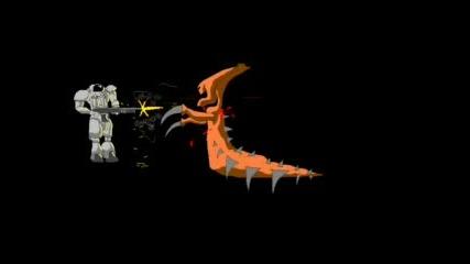 Star Craft Marine Vs Zerg Remix