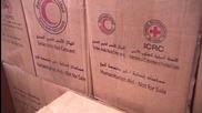 Syria: Kessab residents receive humanitarian aid