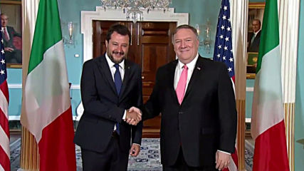 USA: Pompeo hosts Italy's Salvini for talks at White House