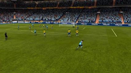 Fifa 13 Xabi Alonso фалцов пряк свободен от 34 метра