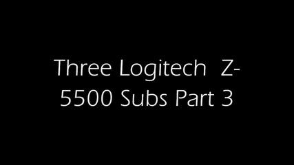 Здрав басс от Logitech Z-5500...