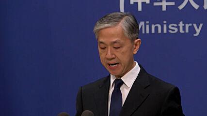 China: Beijing condemns US officials' Taiwan visits