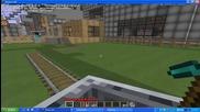 Minecraft - Мойто влакче в сървара на Agentminecraft...