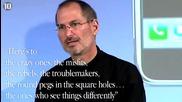 10-те най-добри цитати на Стив Джобс - R.i.p.