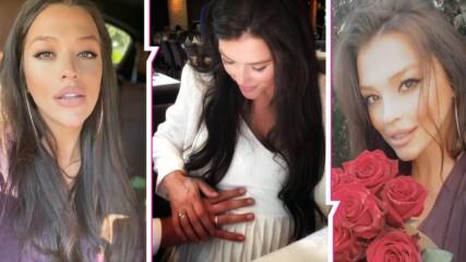 Бориса Тютюнджиева изненада всички ни - бременна е, омъжена е...