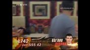 Big Brother F - Гнус В Леглото На Елеонора И Давид 07.04.10