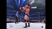 Wwe Smackdown - Brock Lesnar Чупи Вратът На Hardcore Holly