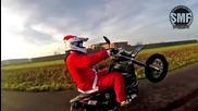 Дядо Коледа замени шейната със Супермото