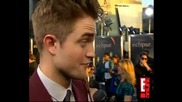 Rob Kristen and Taylor Funny Eclipse Interviews