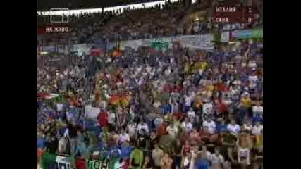 Andrea Pirlo Italy - Gana 2:0