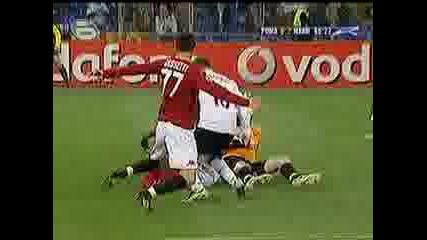 Рома - Манчестер Юнайтед 0:2 Rooney