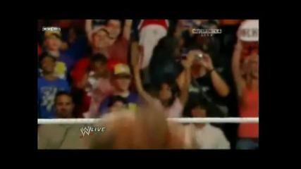 Wwe Raw (09.06.2010) Randy Orton 4 rkos