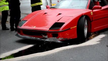 Потрошено Ferrari F40