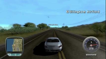 Test Drive Unlimited - Mercedes-benz Sls Amg Тест {720p}