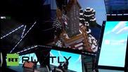 Microsoft представи холограмен Minecraft