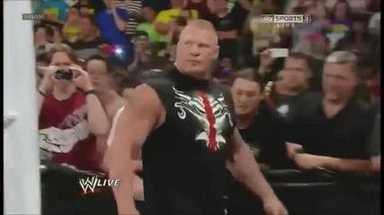 Брок Леснар се завръща Първична Сила 17.06.2013