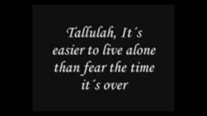 Sonata Arctica - Tallulah Lyrics mpeg4