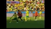Испания 2 - 1 Юар - Купа на конфедерациите 28.06.09