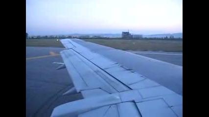 Bulgaria Air Излитане От Sofia Airport