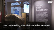 Egypt demands return of Giza Pyramid stone if legality not verified