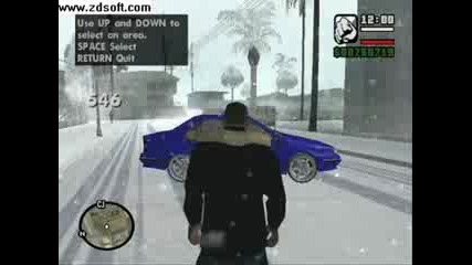 Автомобили от Gta Snow Andreas