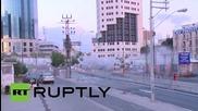 Израел: Прословутият мост в Тел Авив бе разрушен
