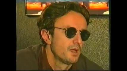 Goran Bregović - Intervju pred prvi koncert Orkestra u Srbiji 1995. 2-3