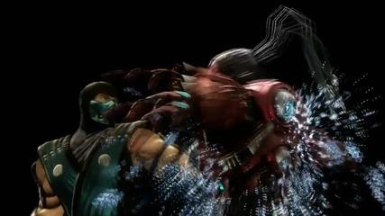 Mortal Kombat 9 - Sub Zero Fatality #1