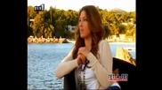 Helena Paparizou Tet - A - Tet interview
