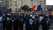 Десетки хиляди на протест в Румъния