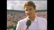 Шампионът На Уимбълдън2007 - Роджер Федерер