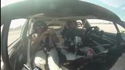 Daijiro Yoshihara Rides Along with Ken Block Ford Fiesta at Gymkhana Grid - Gt Channel