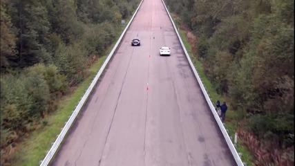 Audi Rs6 Evotech срещу Porsche 911 Turbo