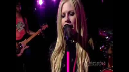 Avril Lavigne-Im with you(LIVE)-HQ
